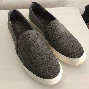 Keds Gray Suede Sneakers